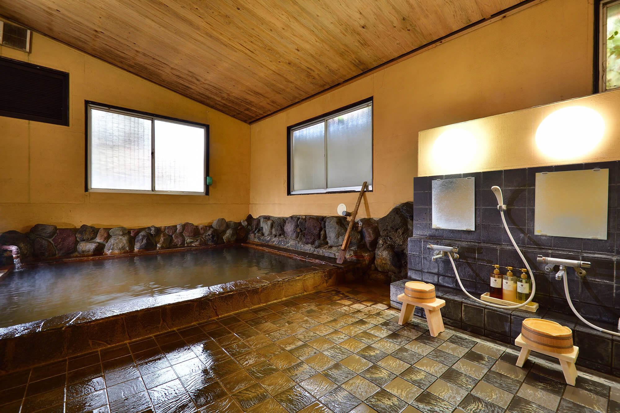 内湯のみの大浴場