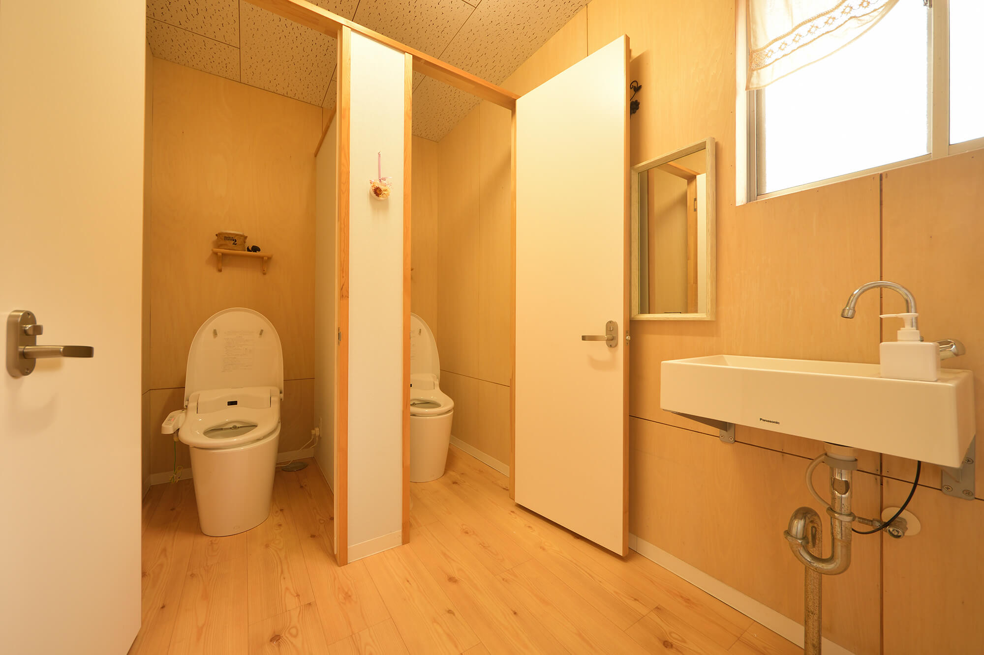 共同トイレは2014年にリニューアル